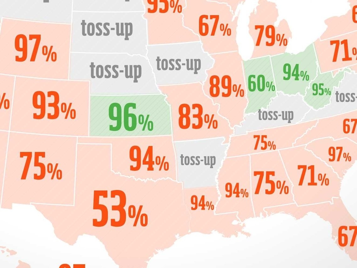 Map Shows Which Team Every State Is Rooting For In The Super for Map Of Rooting For Super Bowl