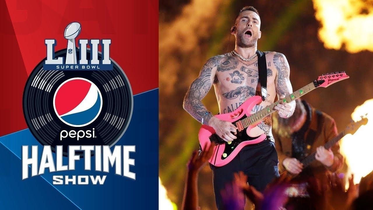 Maroon 5 (Feat. Travis Scott & Big Boi) | Pepsi Super Bowl Liii Halftime  Show inside Maroon 5 Super Bowl Liii