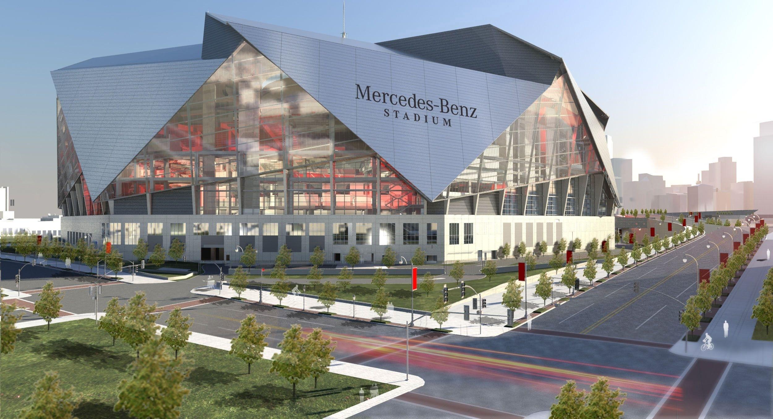 Mercedes-Benz Stadium, Atlanta Ga | Seating Chart View with Mercedes Benz Stadium Super Bowl Seating Chart