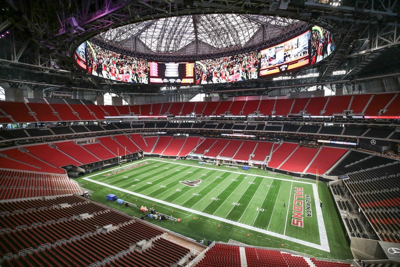 Mercedes-Benz Stadium| Downtown Atlanta, Ga in Atlanta Super Bowl Stadium Address