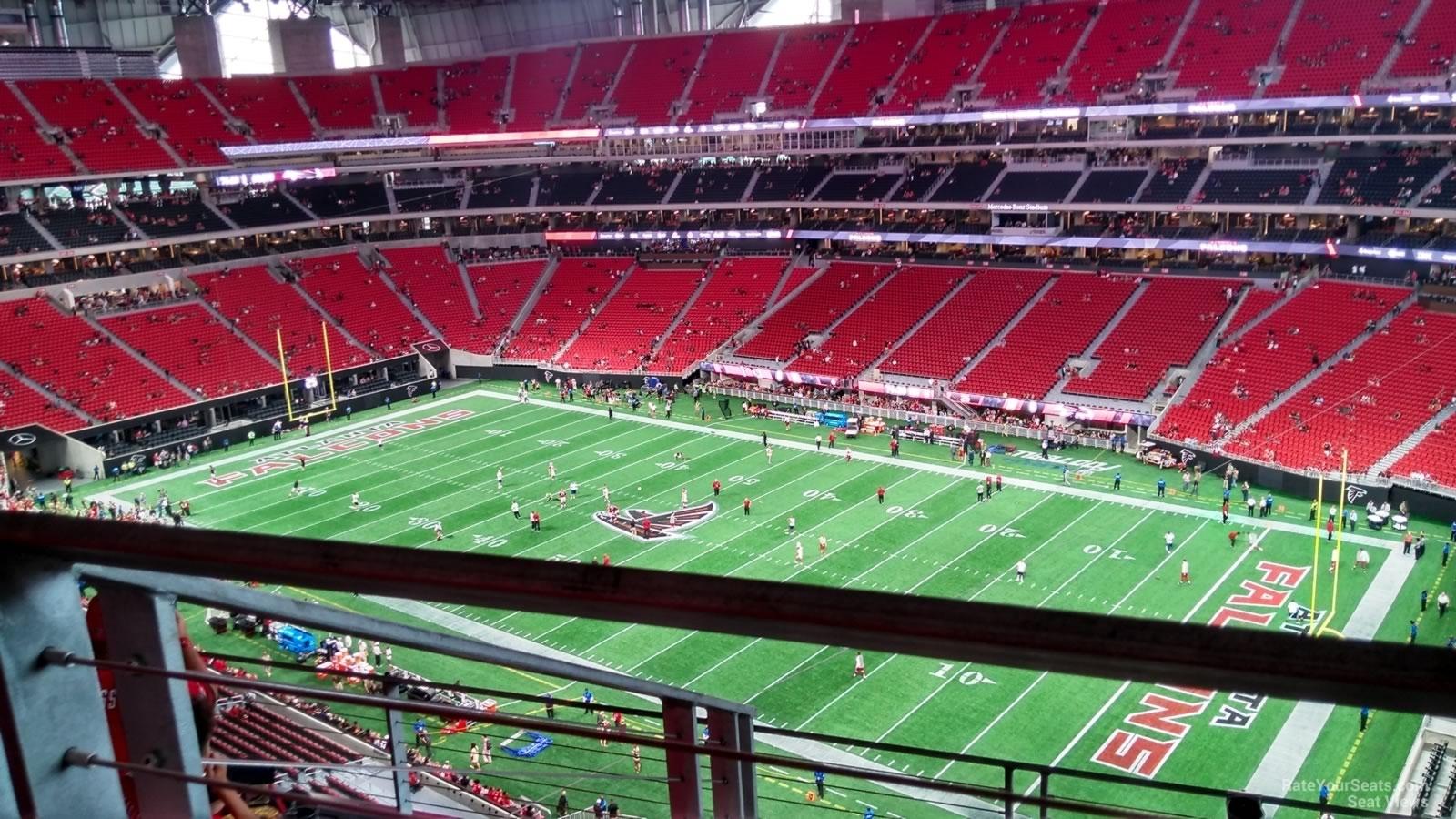 Mercedes-Benz Stadium Section 306 - Atlanta Falcons intended for Mercedes Benz Stadium Super Bowl Seating Chart