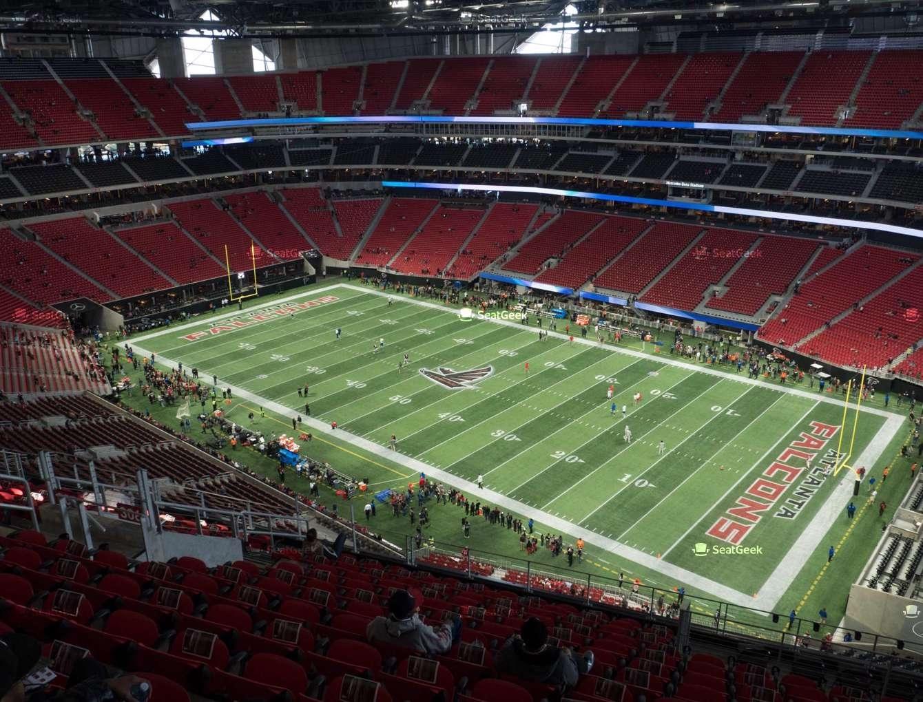 Mercedes-Benz Stadium Section 306 Seat Views | Seatgeek regarding Atlanta Stadium Super Bowl Seating Capacity