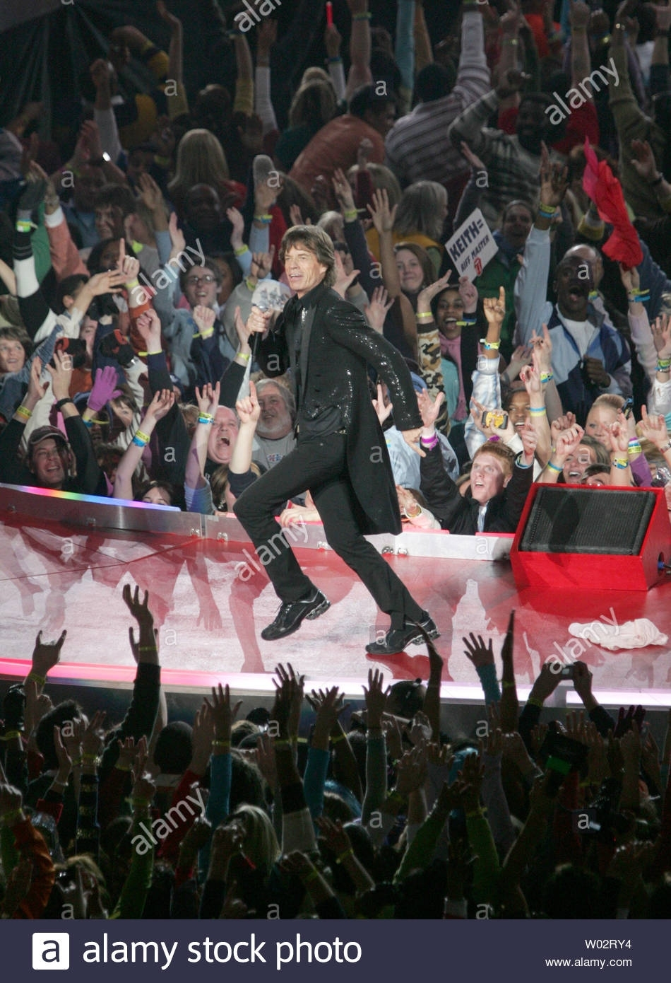 Mick Jagger And The Rolling Stones Perform In The Half Time with regard to Rolling Stones Super Bowl