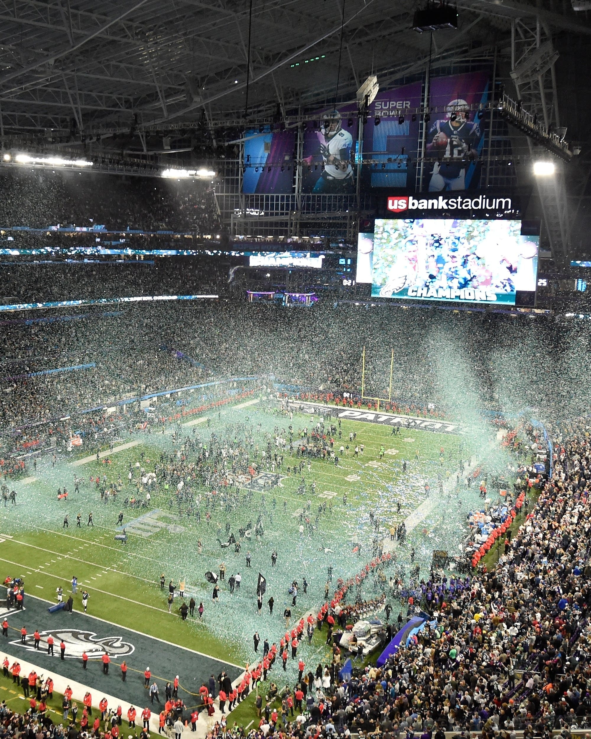 Minneapolis Super Bowl Netted $370 Million, Report Says with Super Bowl Stadium Address
