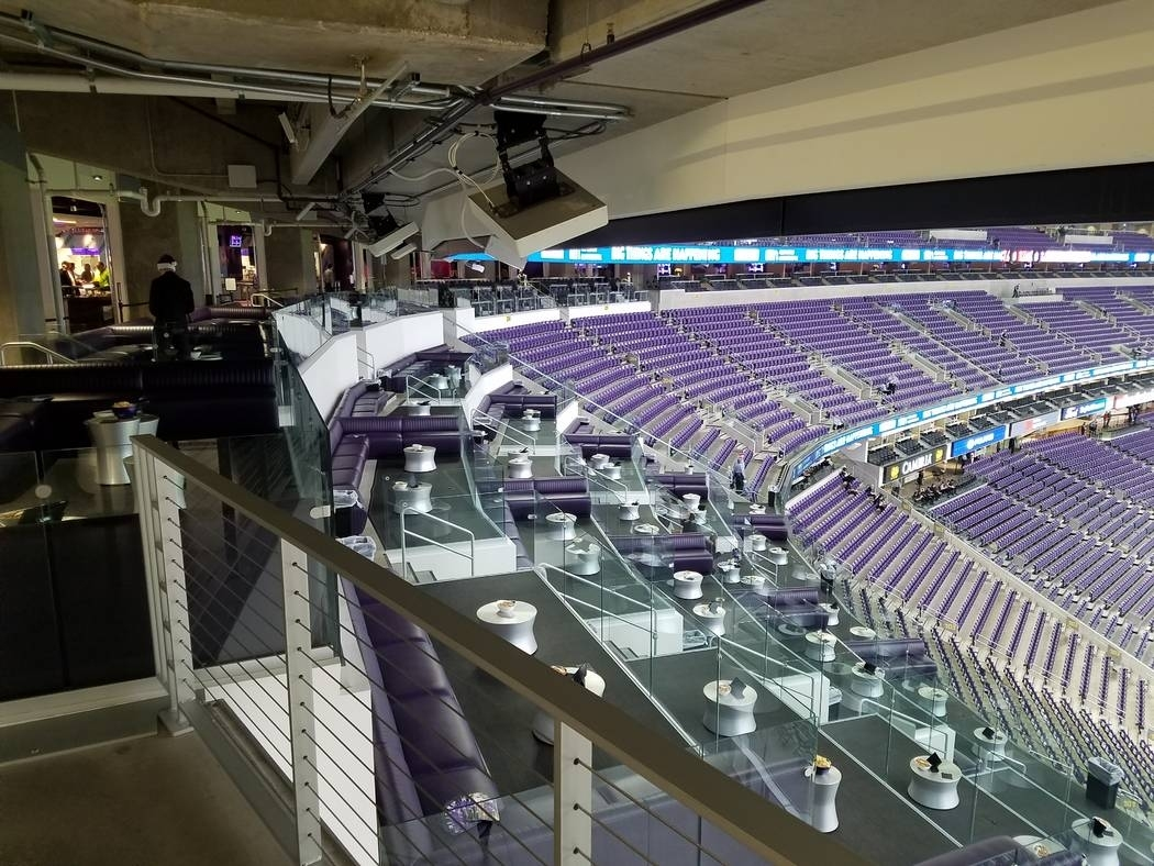 Minnesota's Super Bowl Bid Holds Lessons For Las Vegas | Las for Minimum Seating Capacity For Super Bowl