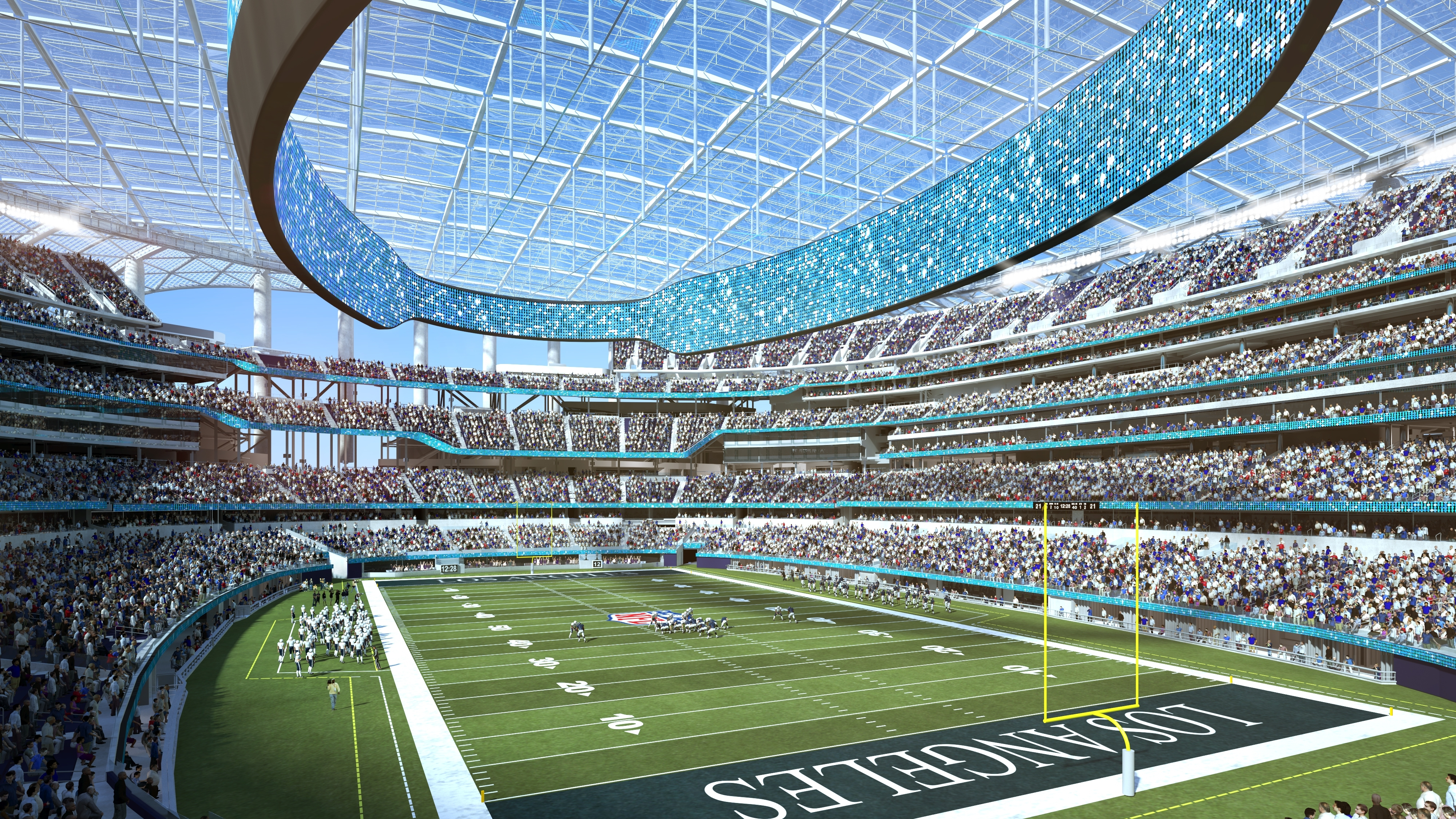 New Home To Rams, Chargers To Be Known As Sofi Stadium in Super Bowl Stadium 2019 Seating Capacity