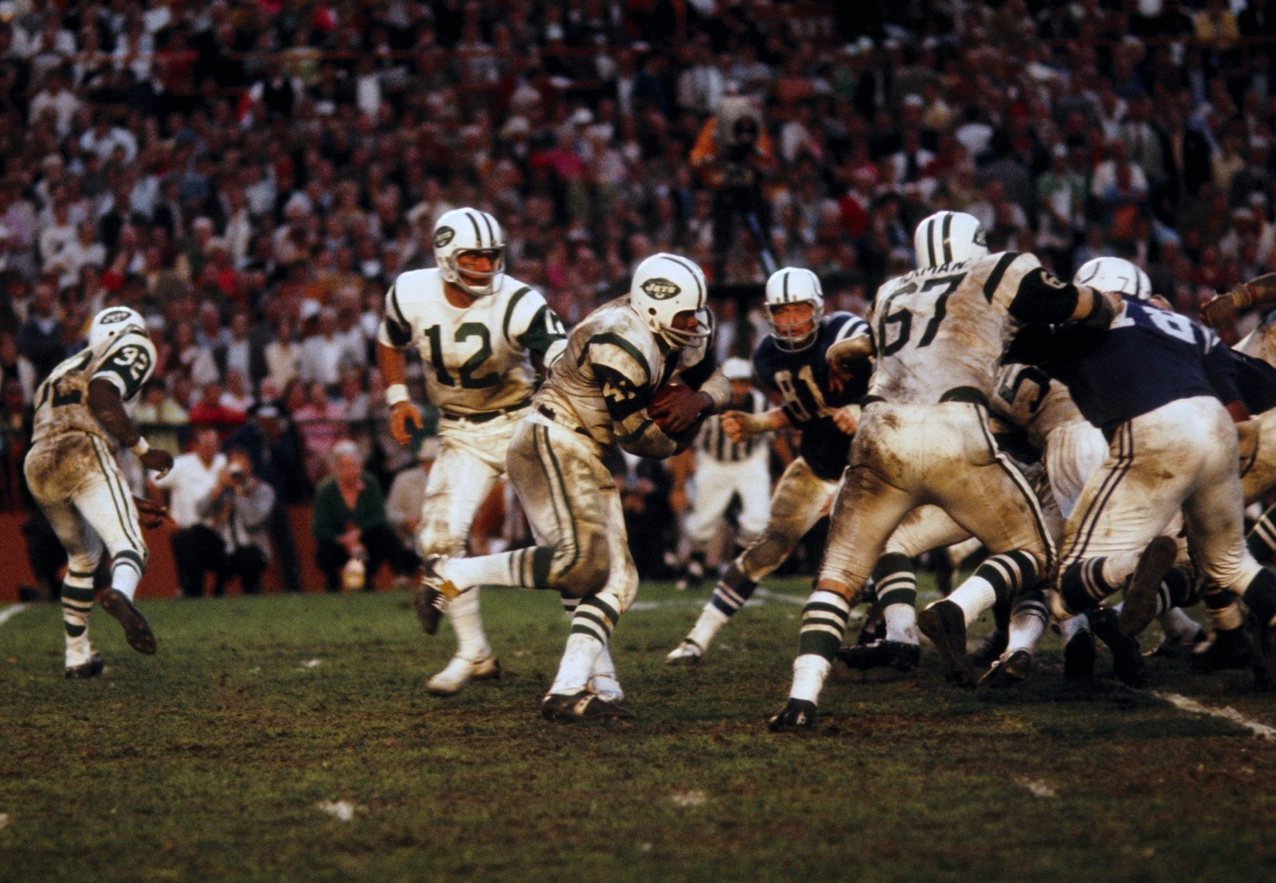 New York Jets All-Time Ultimate 53-Man Roster: Joe Namath within Joe Namath Super Bowl