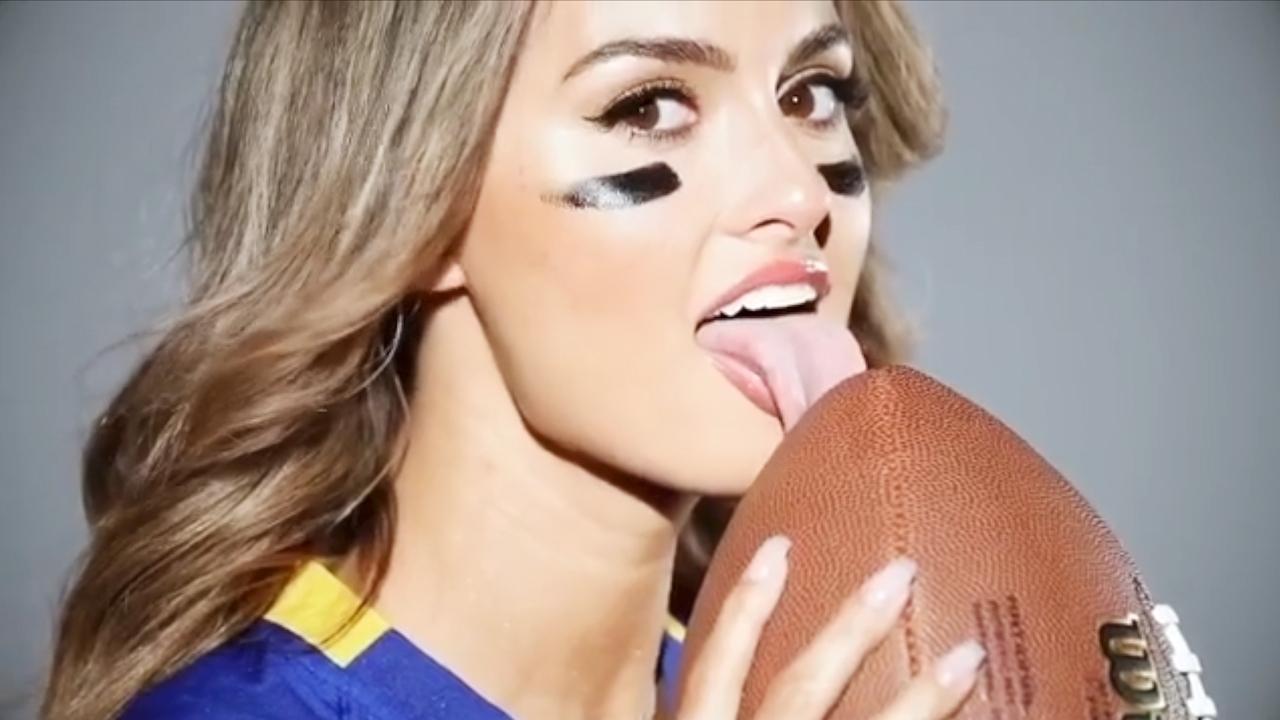 Nfl: Mtv-Star Julia Rose Macht Lust Auf Den Super Bowl within Julia Rose Super Bowl
