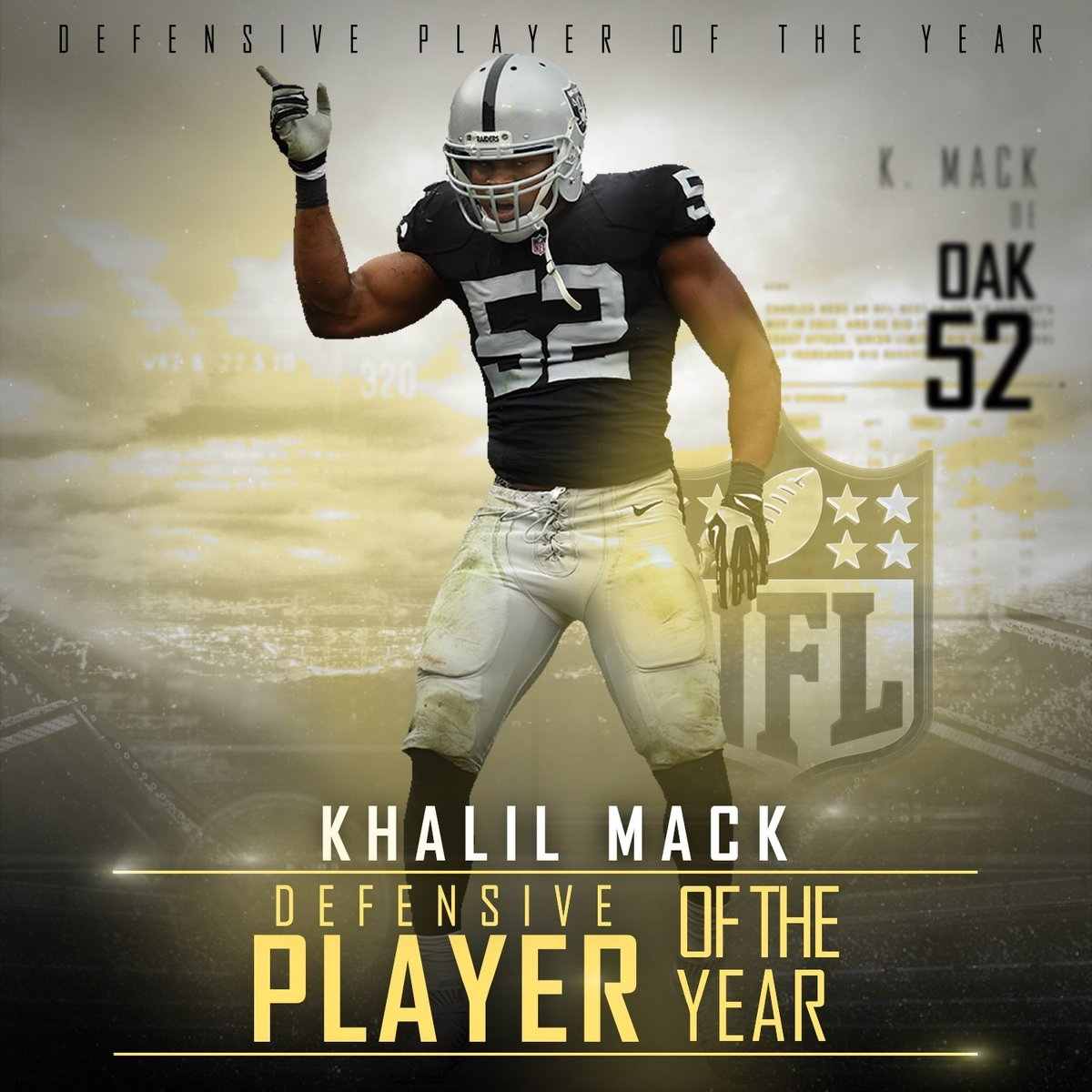 "Nfl On Espn On Twitter: ""khalil Mack Has Won The 2016 Ap Nfl regarding Nfl Super Bowl Mvp Voting 2016"