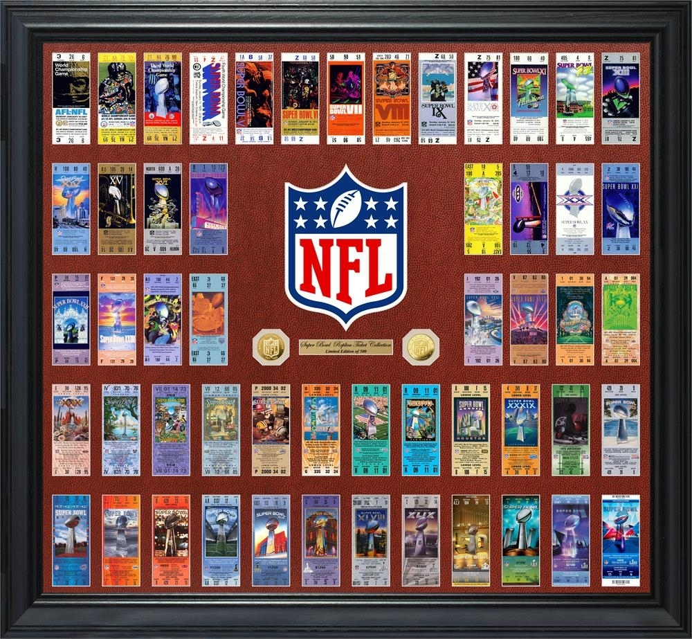 Nfl Super Bowl 53 Ticket Collection Photo Mint in Nfl Super Bowl Tickets