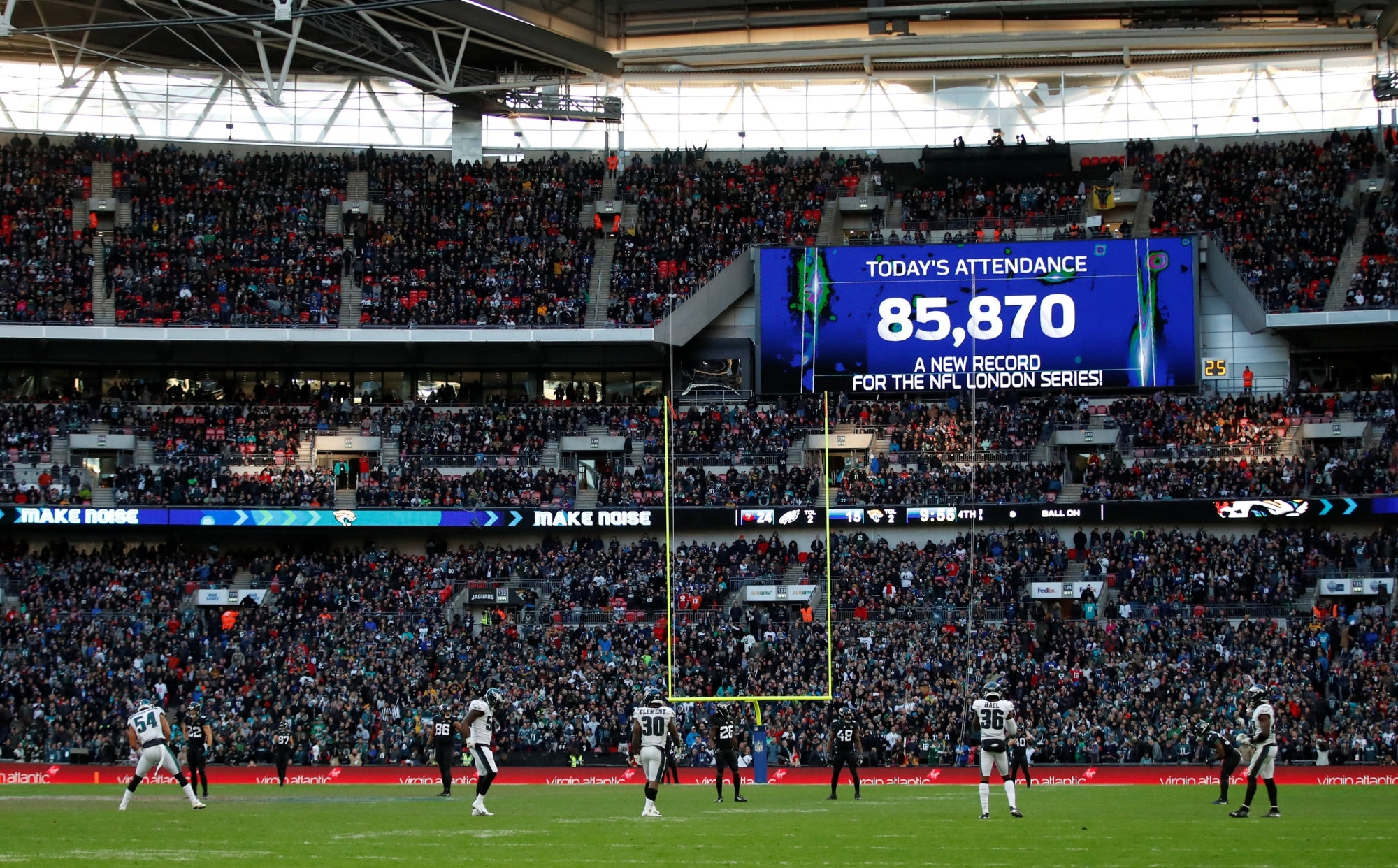 Nfl To Stage Four London Games In 2019 As U.k. Popularity in Super Bowl Attendance 2019