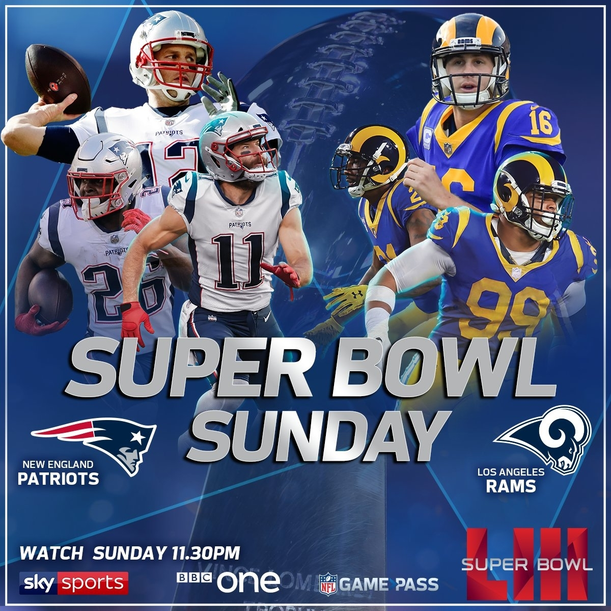 """Nfl Uk On Twitter: """"today's The Day Happy Super Bowl pertaining to Bbc Super Bowl 2019"""