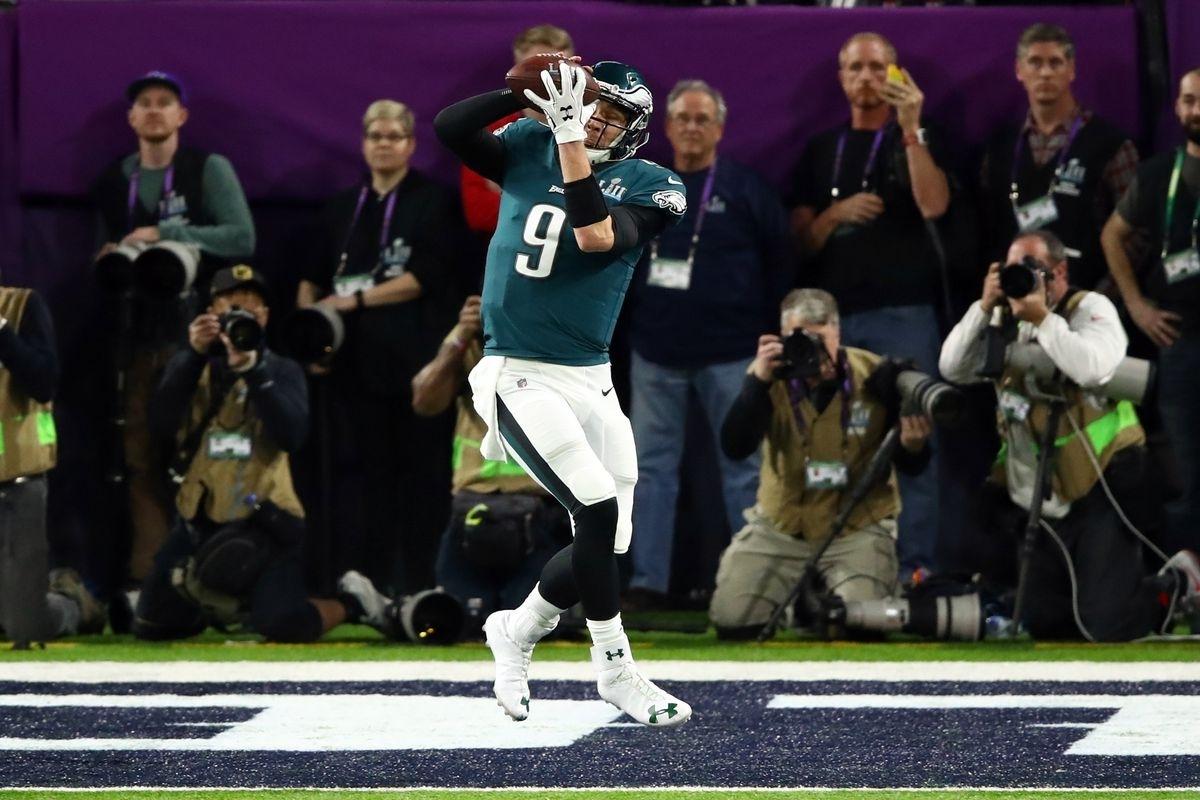 Nick Foles Just Showed Tom Brady How To Catch A Football for Nick Foles Super Bowl