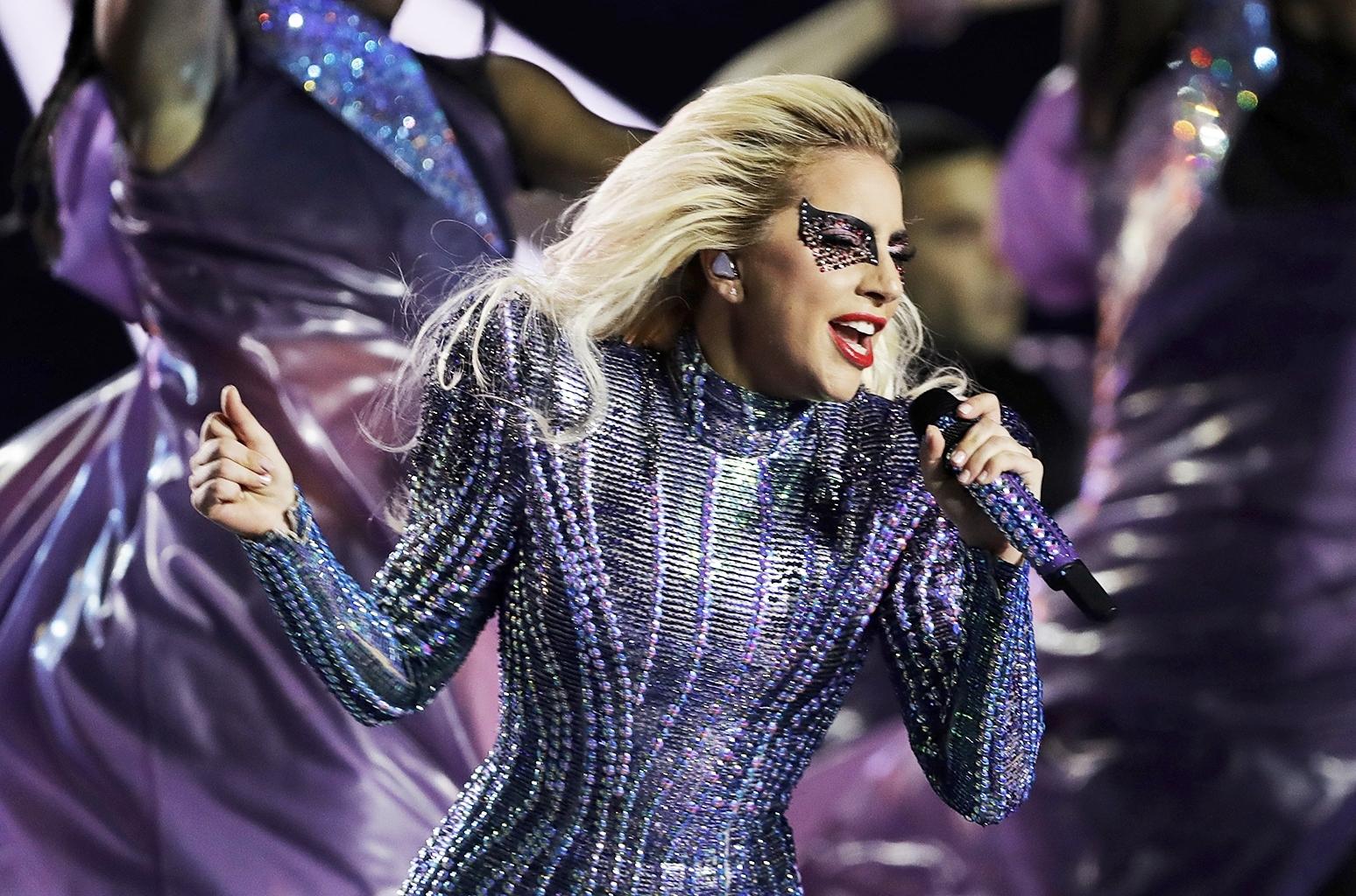 No, Lady Gaga Didn't Burn Trump In Effigy, But Her Super regarding Lady Gaga Super Bowl 2018