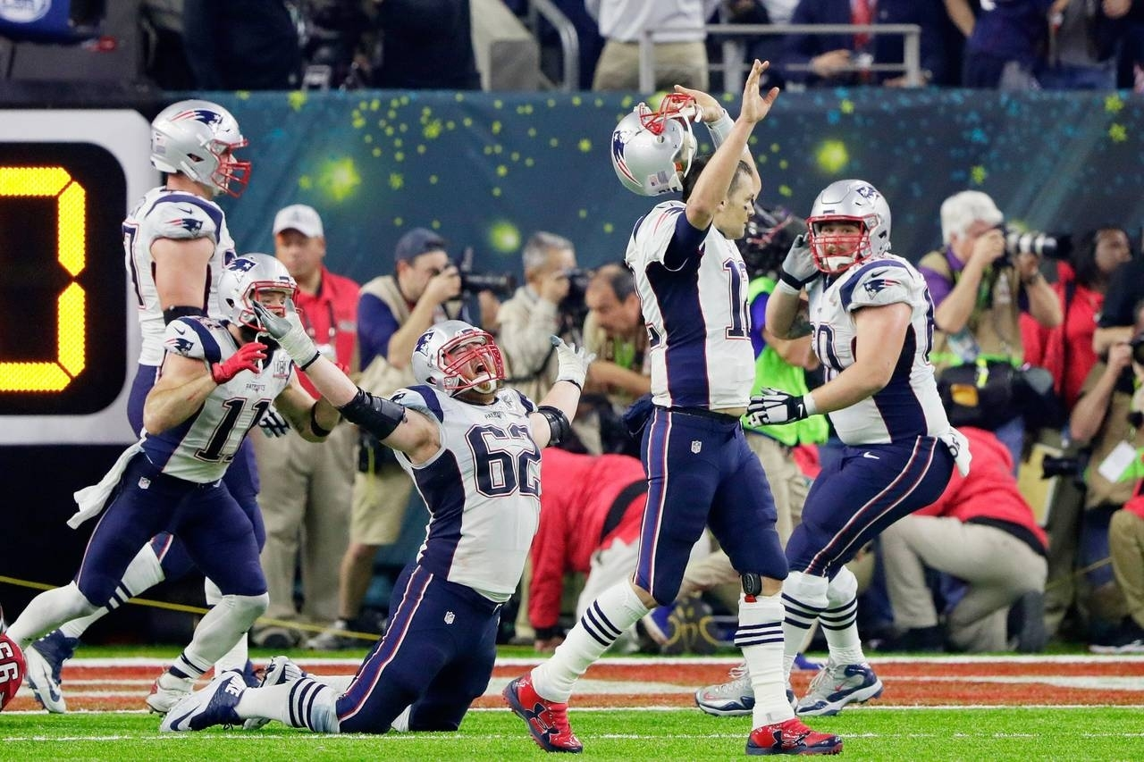 Patriots Storm Back To Stun Falcons In Super Bowl - Wsj pertaining to Falcons Patriots Super Bowl