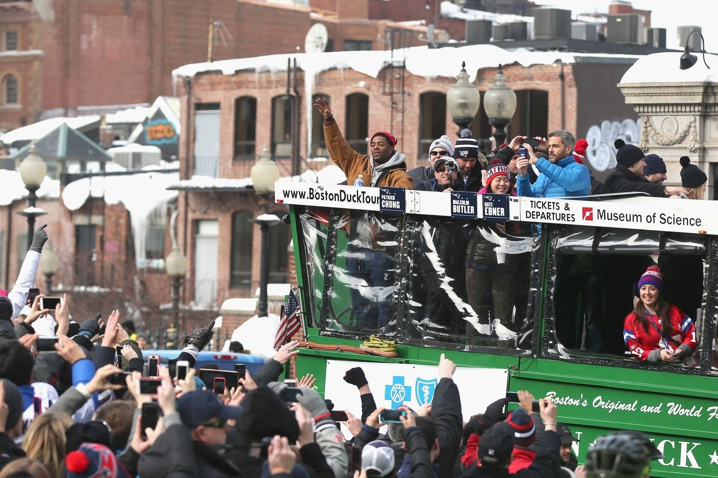Patriots Super Bowl Parade 2017: Map, Route, And Road inside Atlanta Super Bowl Road Closures Map