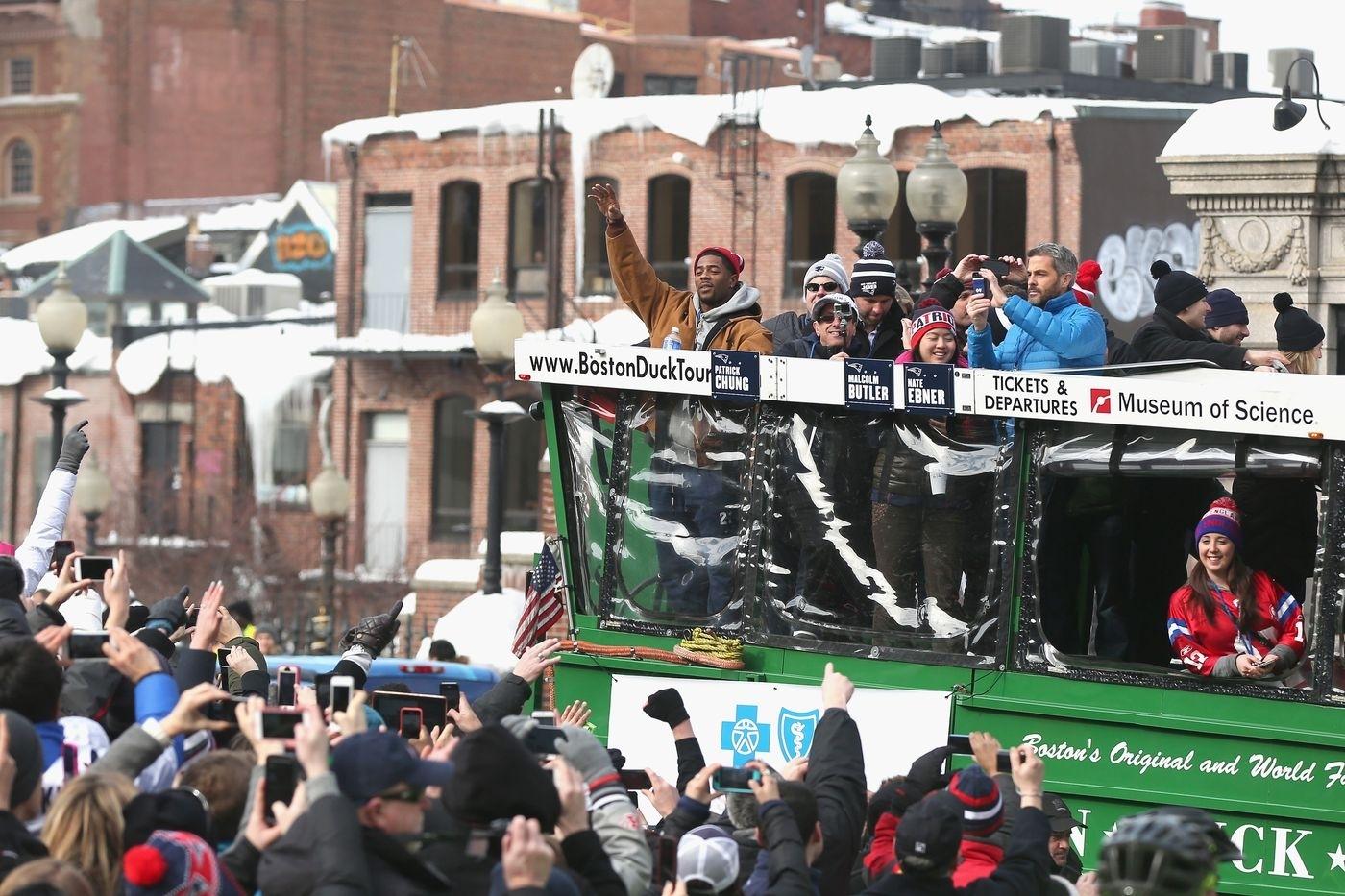 Patriots Super Bowl Parade 2017: Map, Route, And Road inside Atlanta Super Bowl Road Closures Map