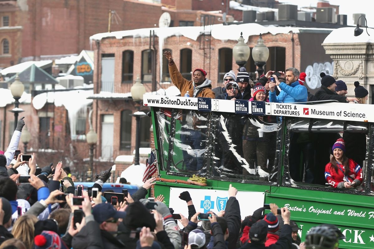 Patriots Super Bowl Parade 2017: Map, Route, And Road regarding Super Bowl Parade Route Map