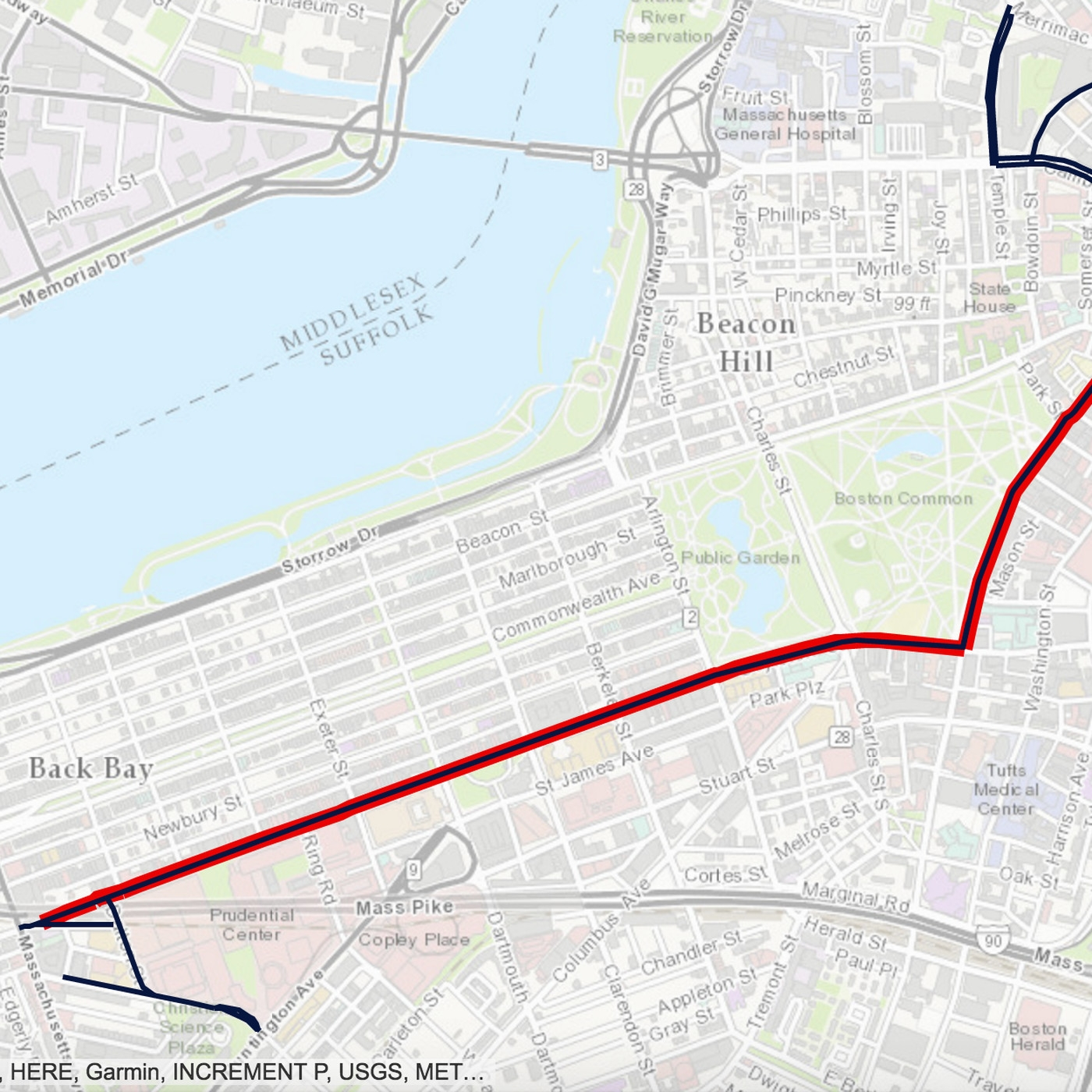 Patriots Super Bowl Parade 2017: Map, Route, And Road throughout Super Bowl Parade Map