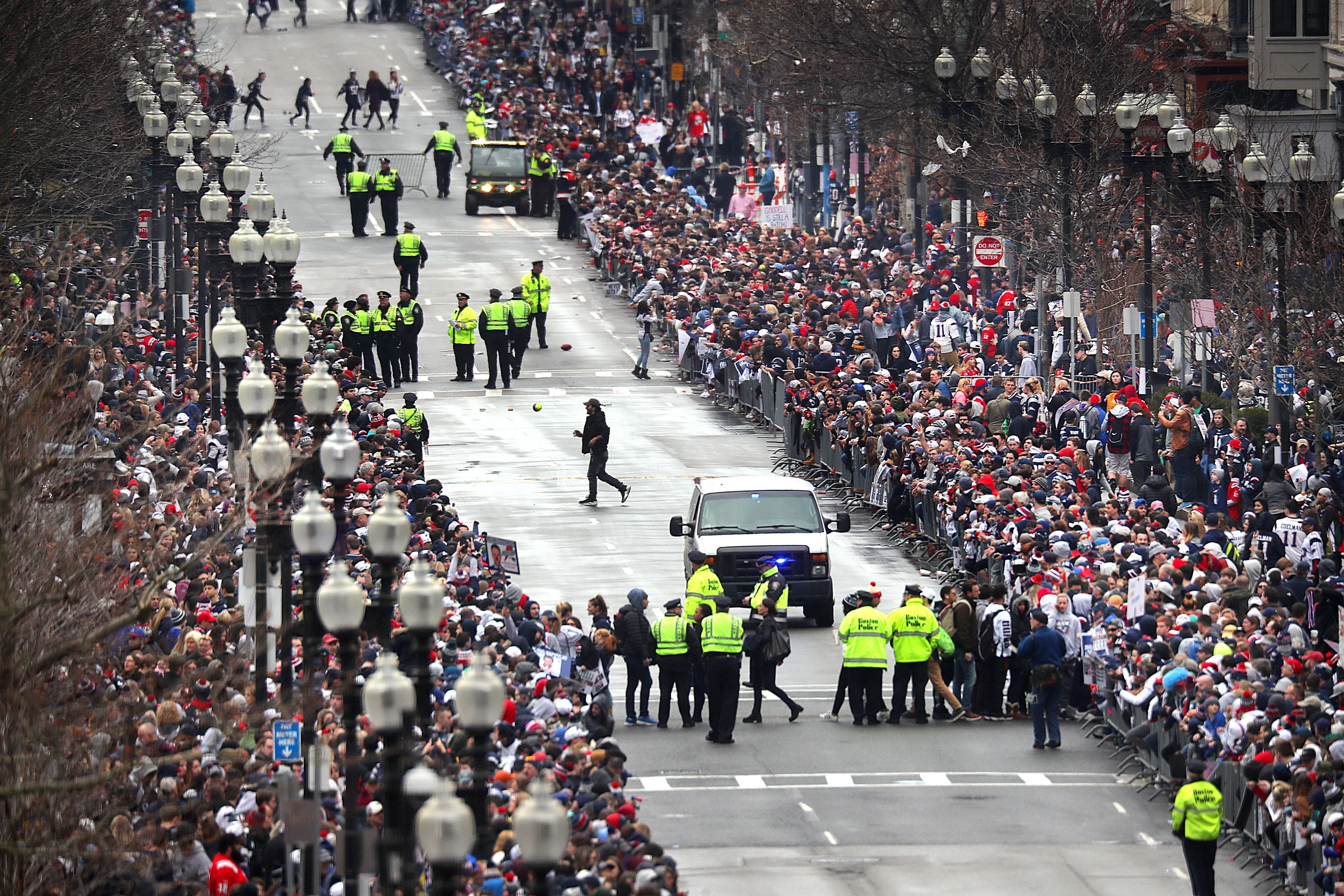Patriots Super Bowl Parade Live Blog: Here's The Latest From pertaining to Patriots Super Bowl Parade 2019 Map