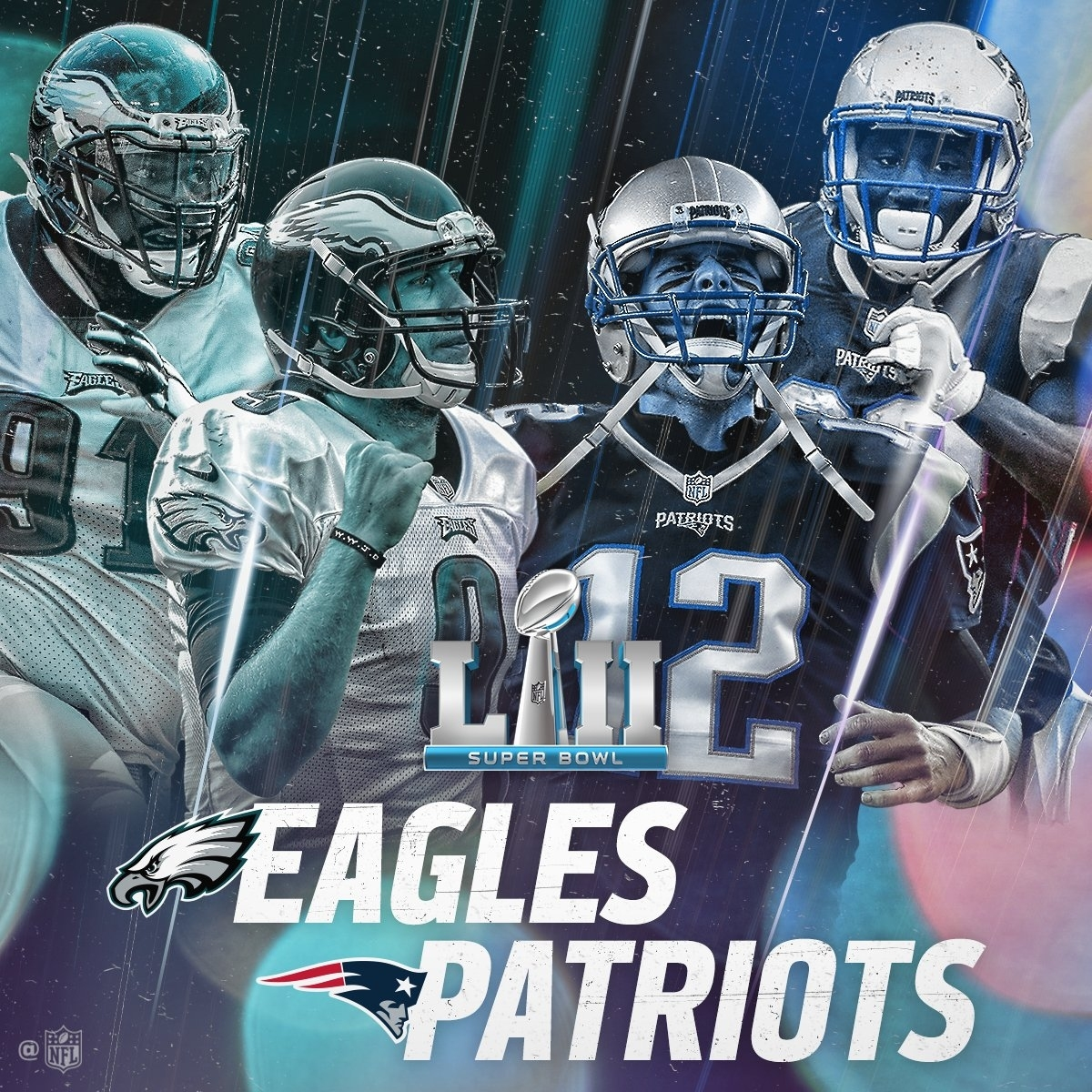 Patriots Vs. Eagles In Superbowl - Am1380 intended for Eagles Patriots Super Bowl
