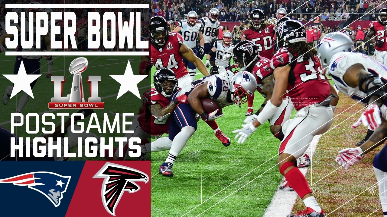 Patriots Vs. Falcons | Super Bowl Li Game Highlights within Nfl Super Bowl 2017
