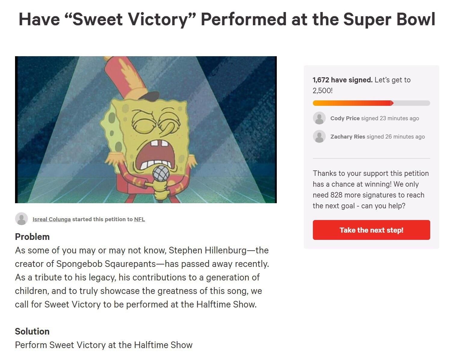 "Petition To Have Song ""sweet Victory"" From Spongebob with regard to Spongebob Super Bowl Sweet Victory"