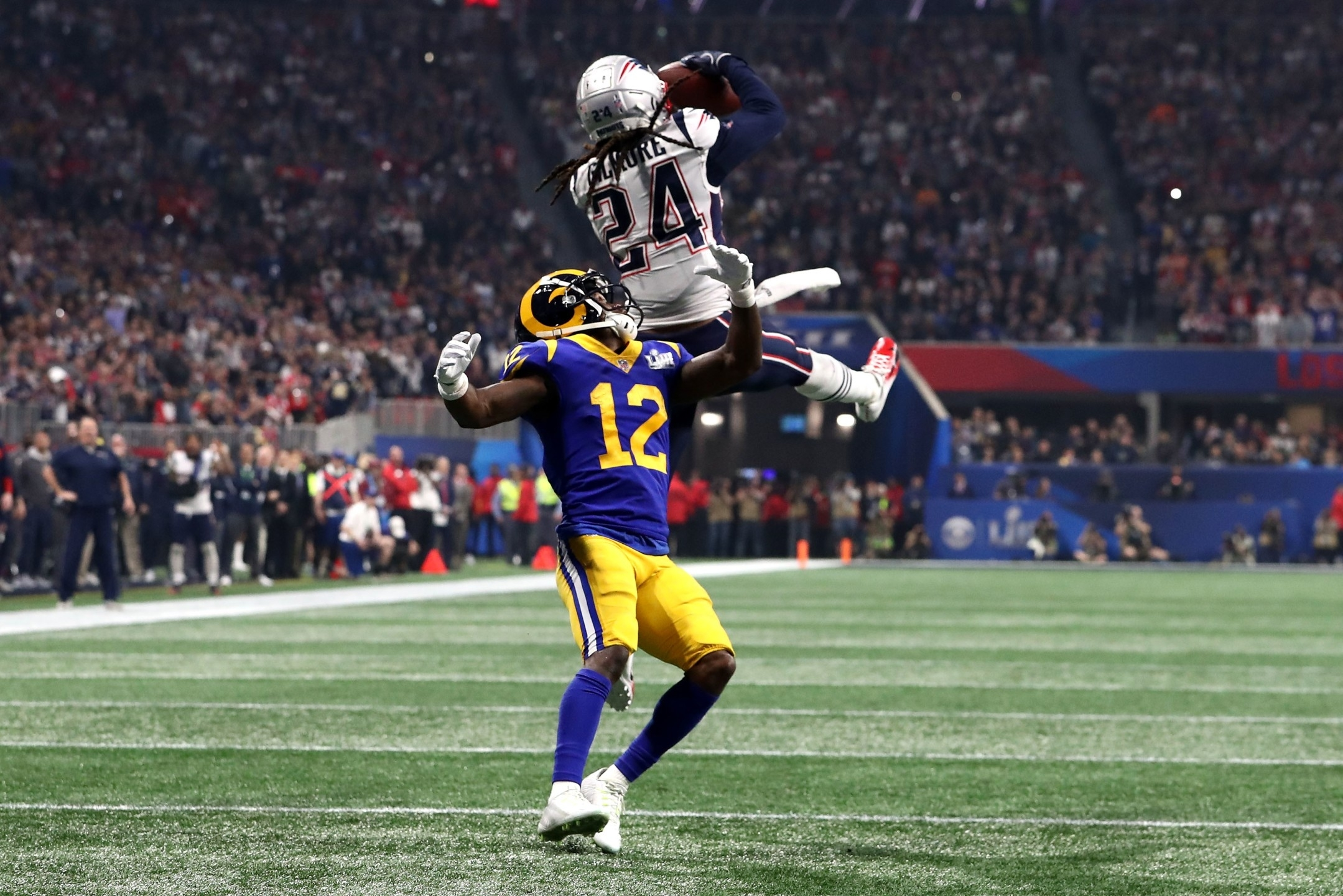 Photos: Patriots Beat Rams 13-3 In Super Bowl Liii in Super Bowl Liii Patriots Rams