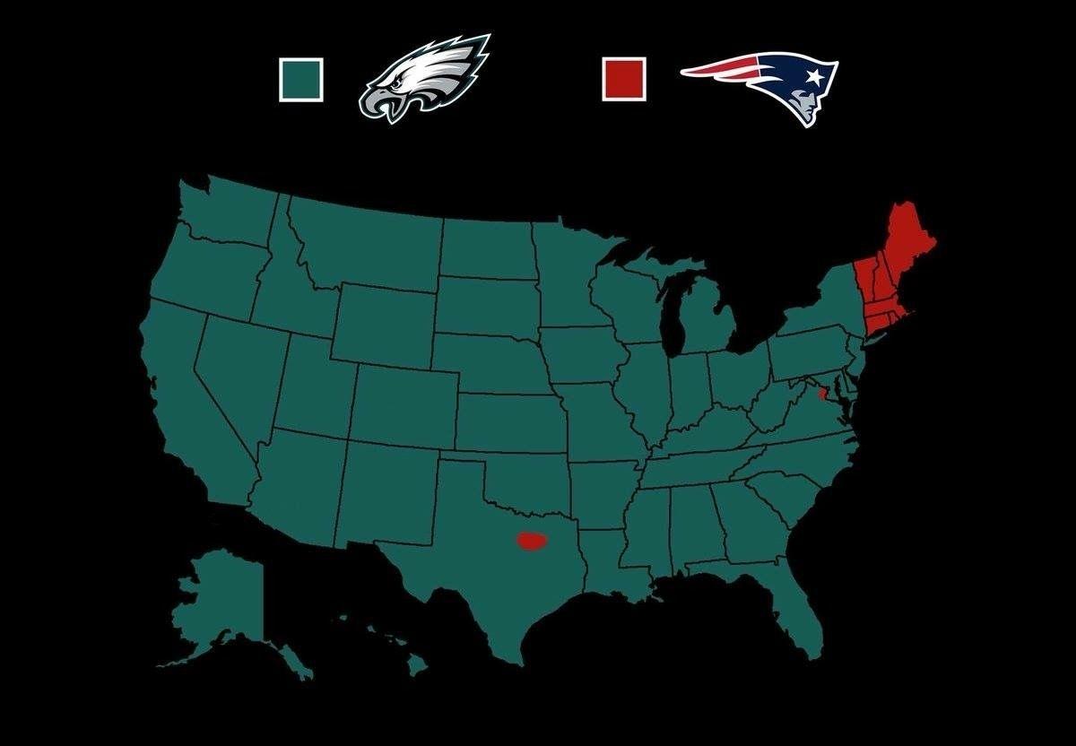 Pinlauren Cachera On Sports | Nfl Memes, Nfl, Nfl Playoffs with Super Bowl Support Map