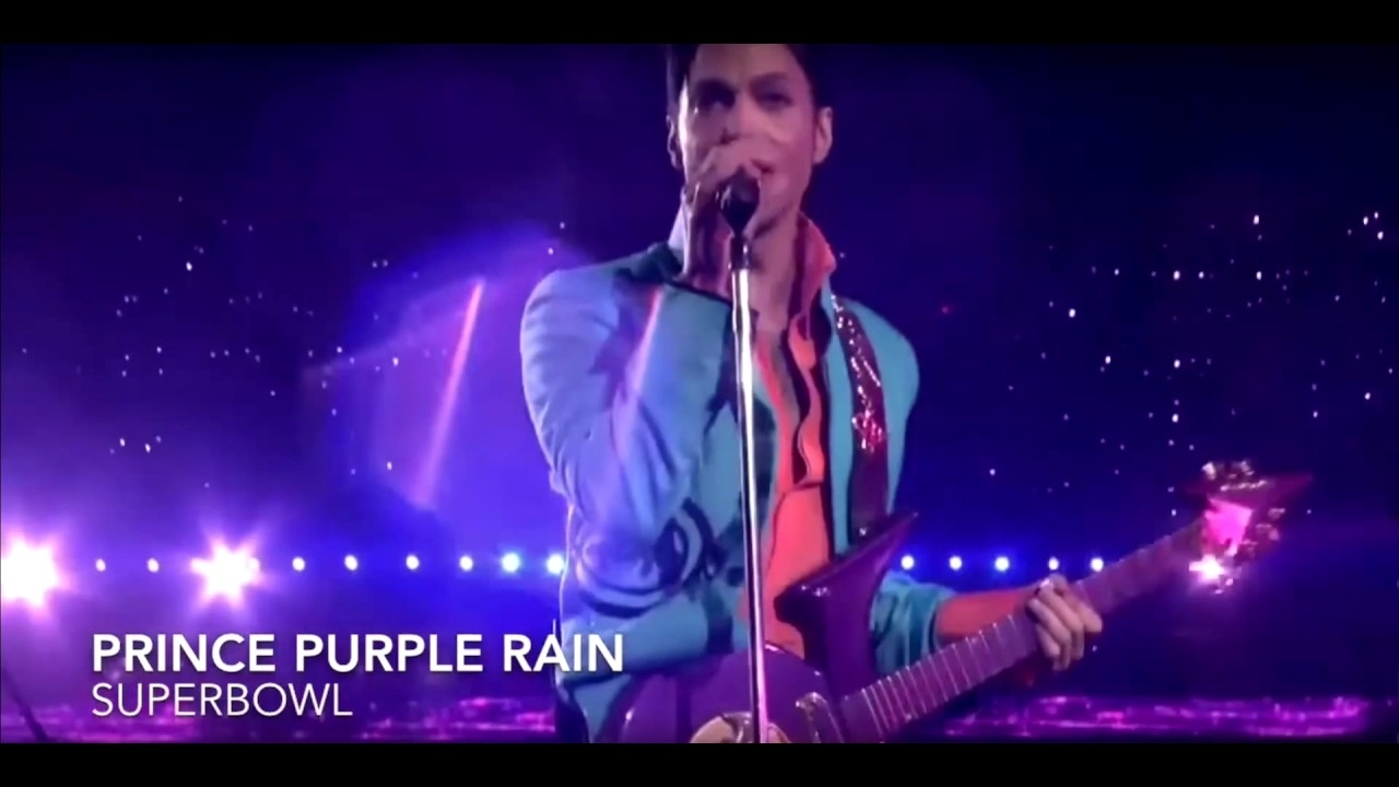 Prince Super Bowl Halftime Performance - Purple Rain (2007) within Purple Rain Super Bowl