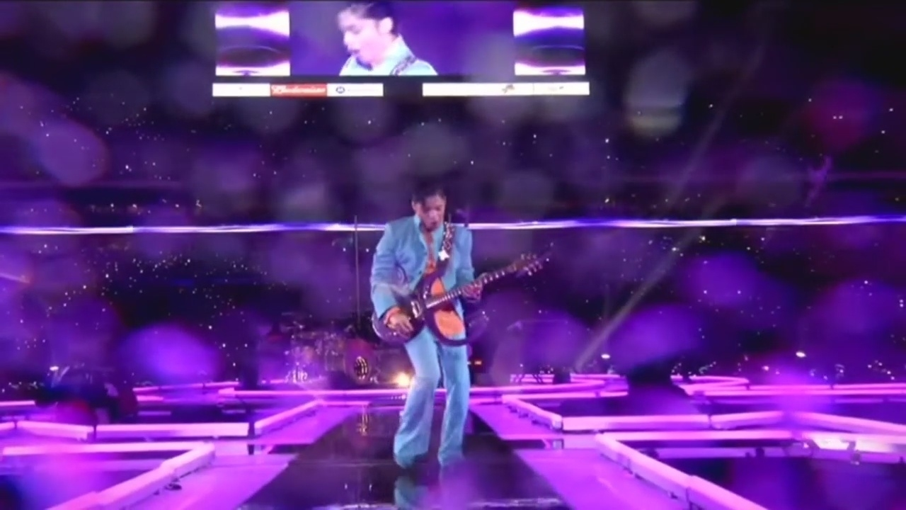 Purple Rain' In The Rain, Prince Gave Memorable Super Bowl inside Purple Rain Super Bowl