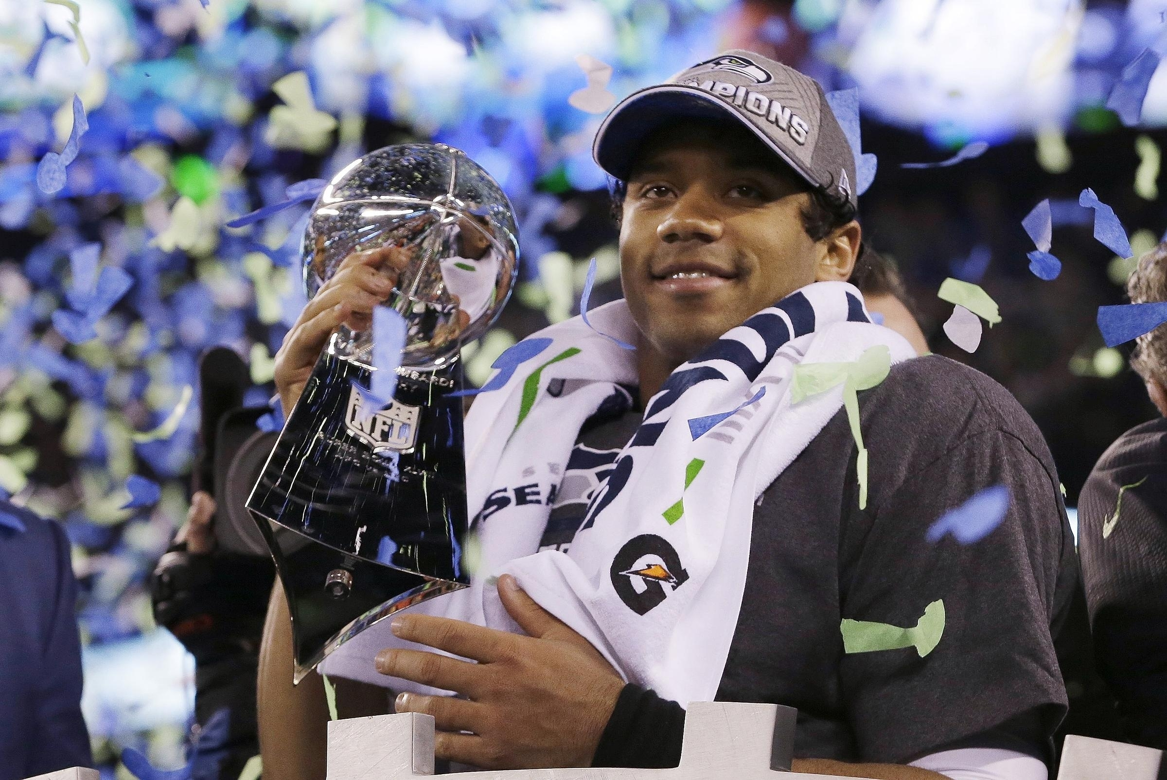 Quarterback Russell Wilson Sets A Milestone, And Everyone within Russell Wilson Super Bowl