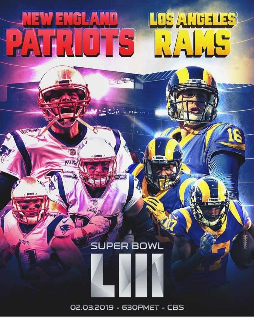 Rams Und Patriots In Super Bowl - Österreichs Football Portal throughout Rams And Patriots 2019