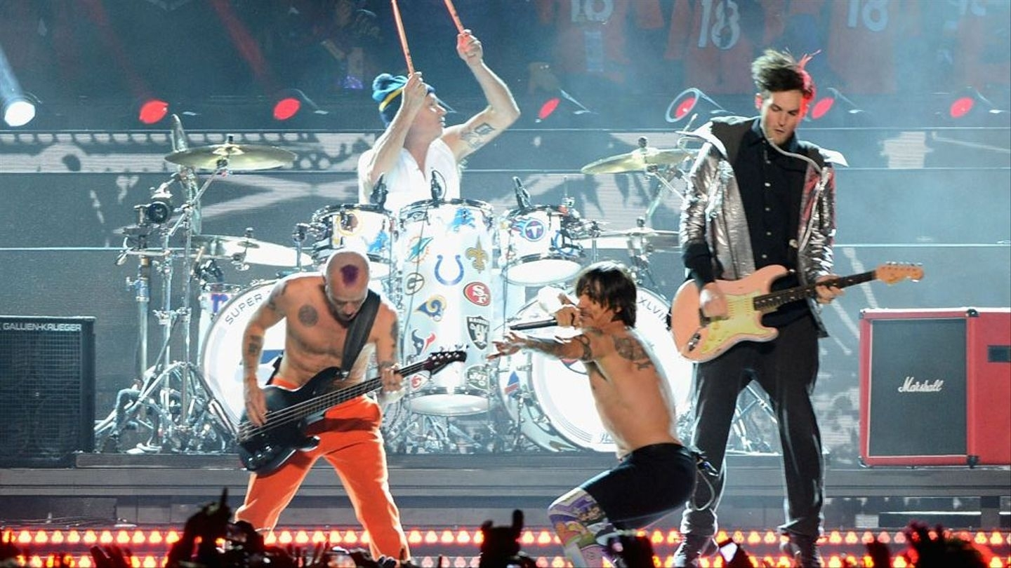 Red Hot Chili Peppers Bassist On Miming Super Bowl: 'i Would in Red Hot Chili Peppers Super Bowl