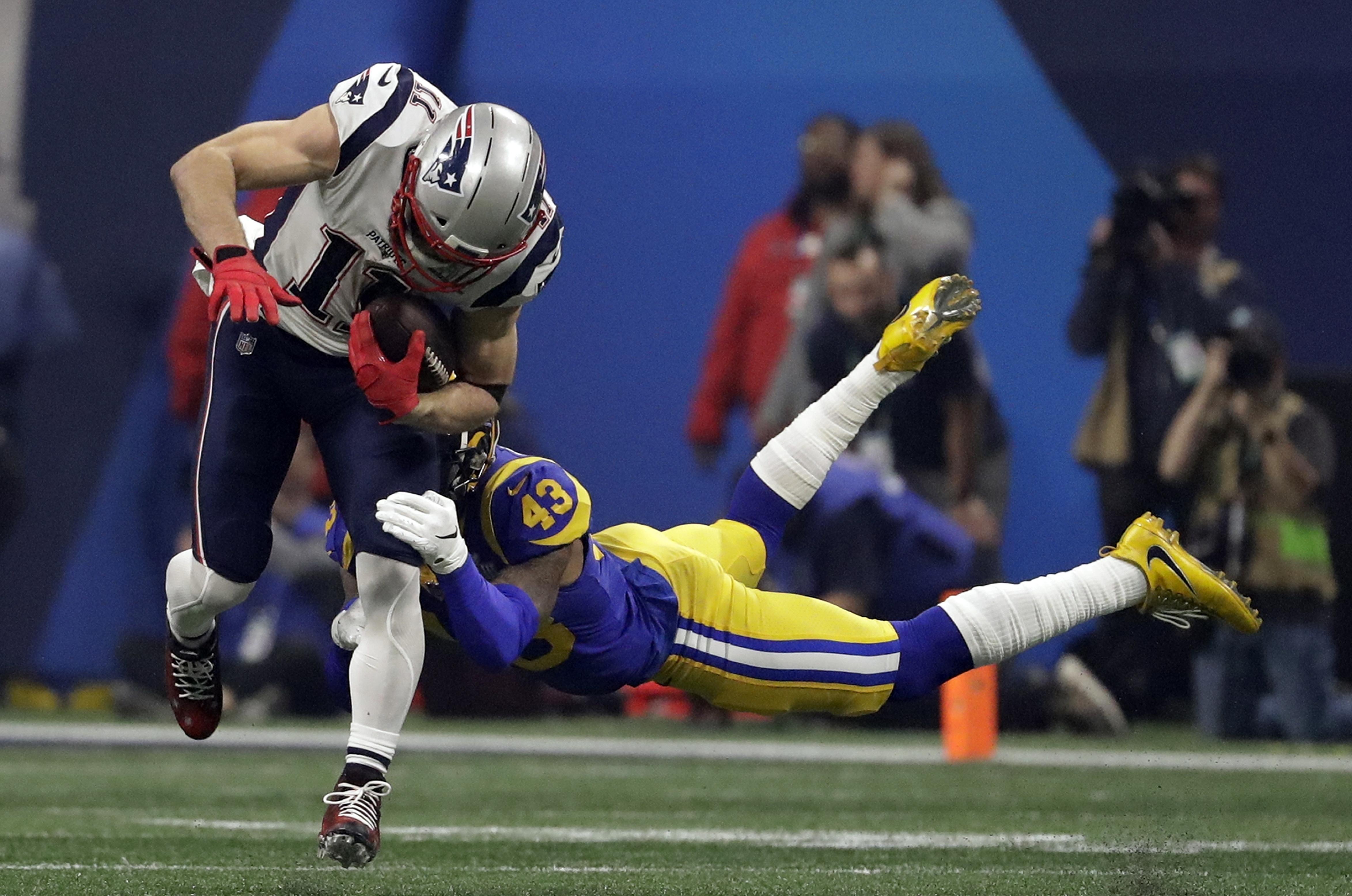 Reliable As Ever, Patriots' Julian Edelman Wins Super Bowl within Julian Edelman Super Bowl Liii