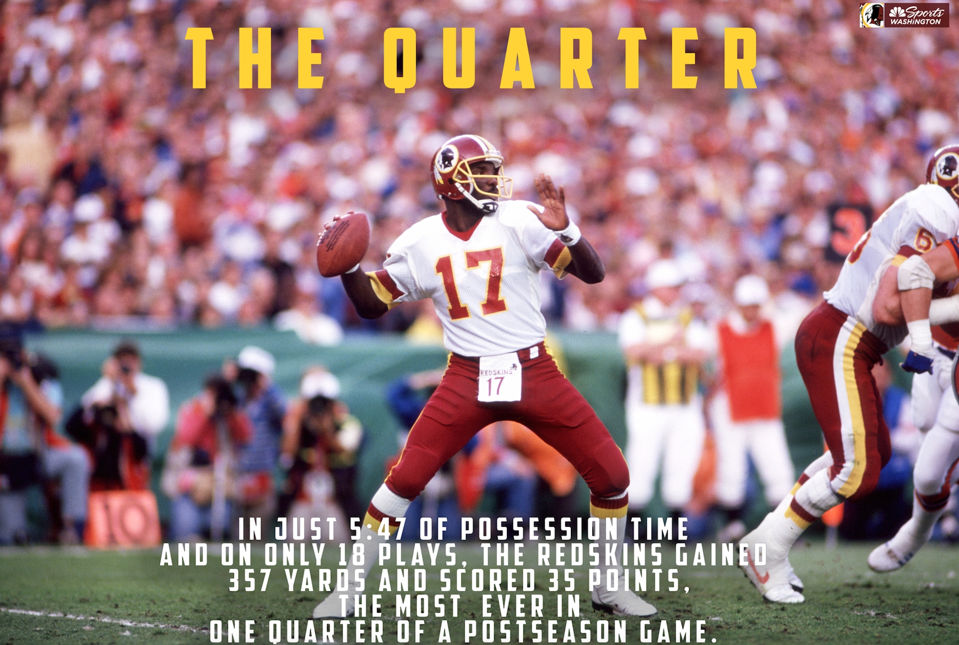 Relive It: Doug Williams Makes History As Redskins Pound for Doug Williams Super Bowl