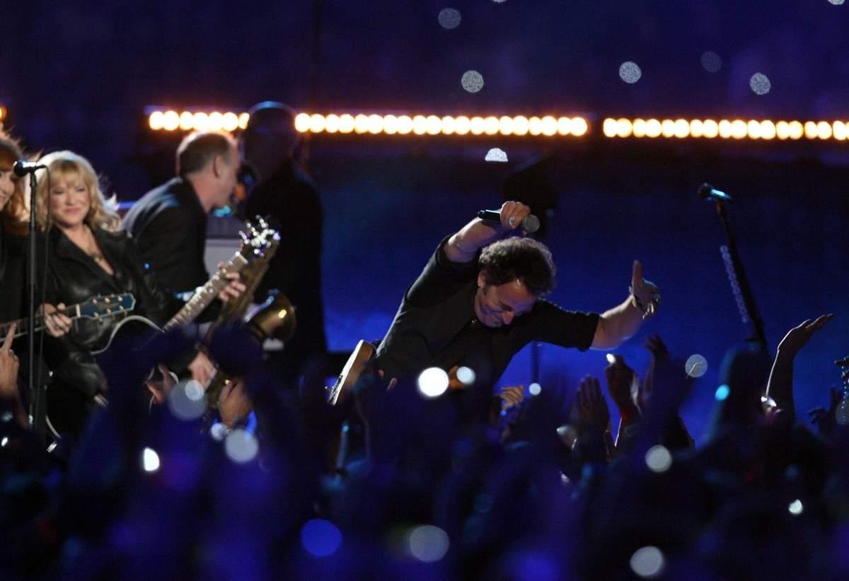 Remembering Bruce Springsteen's Super Bowl Halftime Crotch within Bruce Springsteen Super Bowl