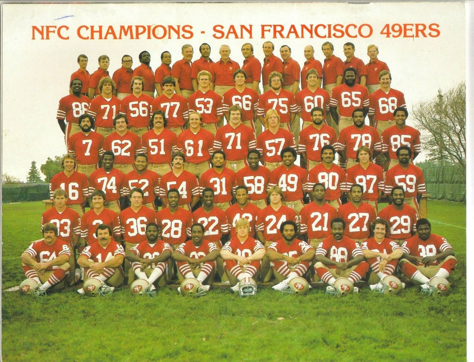 San Francisco 49Ers 1982 | San Francisco 49Ers | American within San Francisco 49Ers Nfl Championships 1982