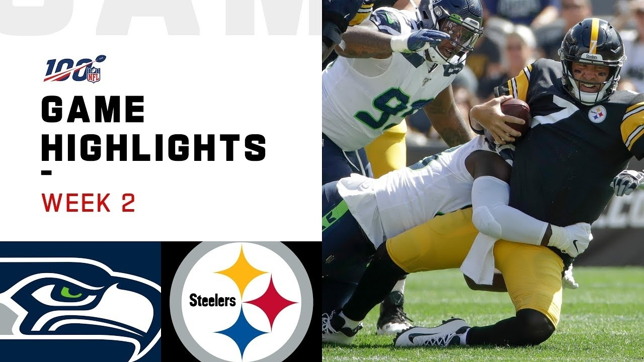 Seahawks Vs. Steelers Week 2 Highlights   Nfl 2019 throughout Steelers Seahawks Super Bowl