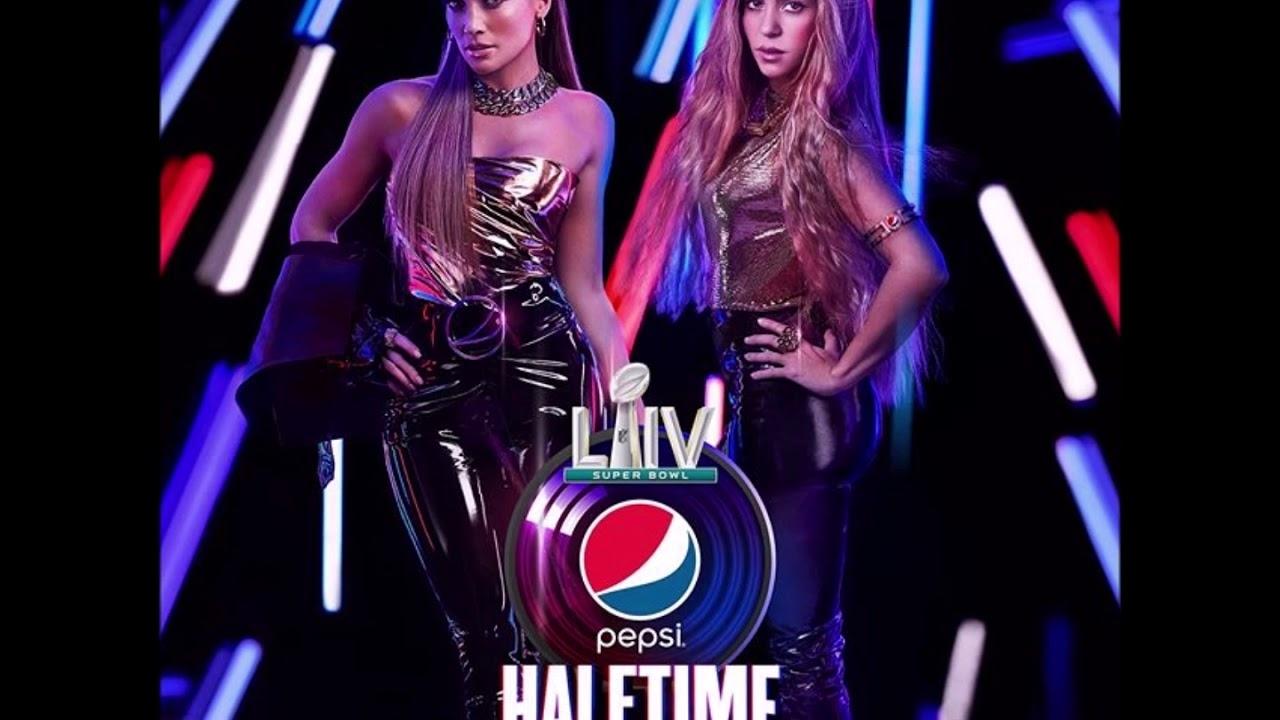 Shakira Super Bowl 2020 Half Time Show 02/02/2020 intended for Super Bowl Halftime Show 2020