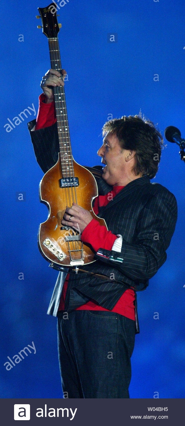 Sir Paul Mccartney Performs In The Halftime Show At Super regarding Paul Mccartney Super Bowl