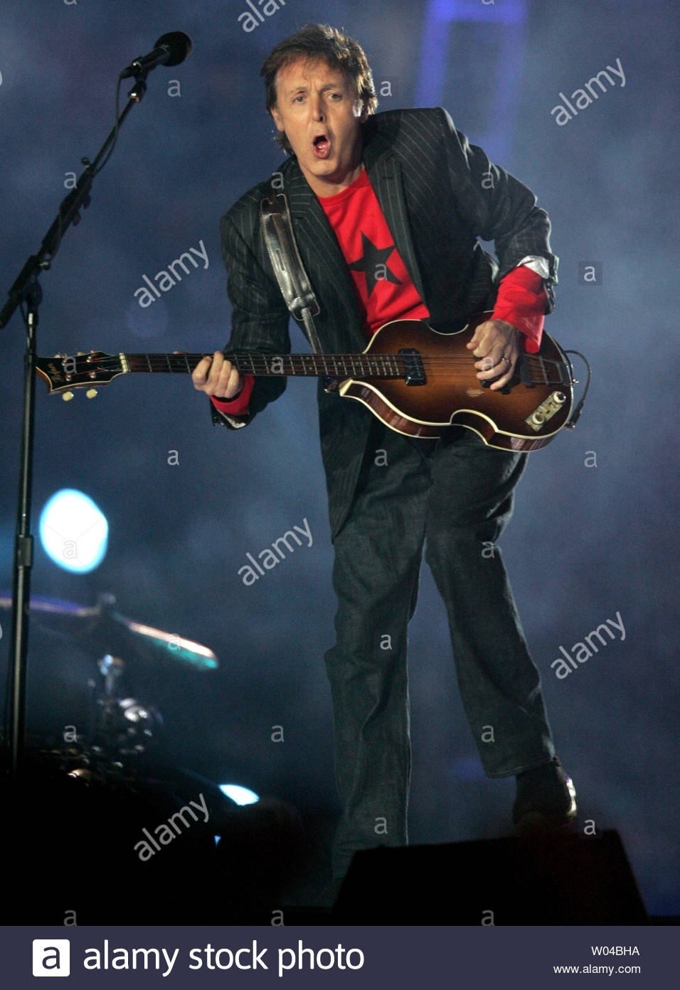 Sir Paul Mccartney Performs In The Halftime Show At Super within Paul Mccartney Super Bowl