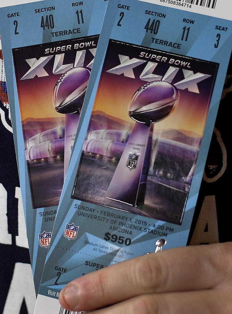 Some Fans Bought Super Bowl Tickets But Couldn't See The throughout Nfl Super Bowl Tickets