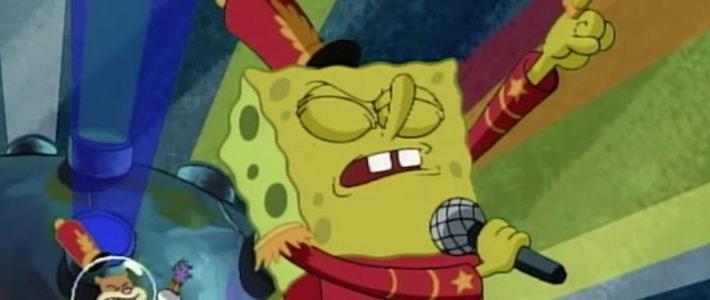Spongebob Squarepants' 'sweet Victory' Finally Gets A Super inside Super Bowl 2019 Sweet Victory