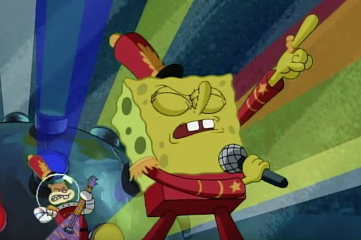 Spongebob Squarepants' 'sweet Victory' Finally Gets A Super inside Super Bowl 2019 Sweet Victory