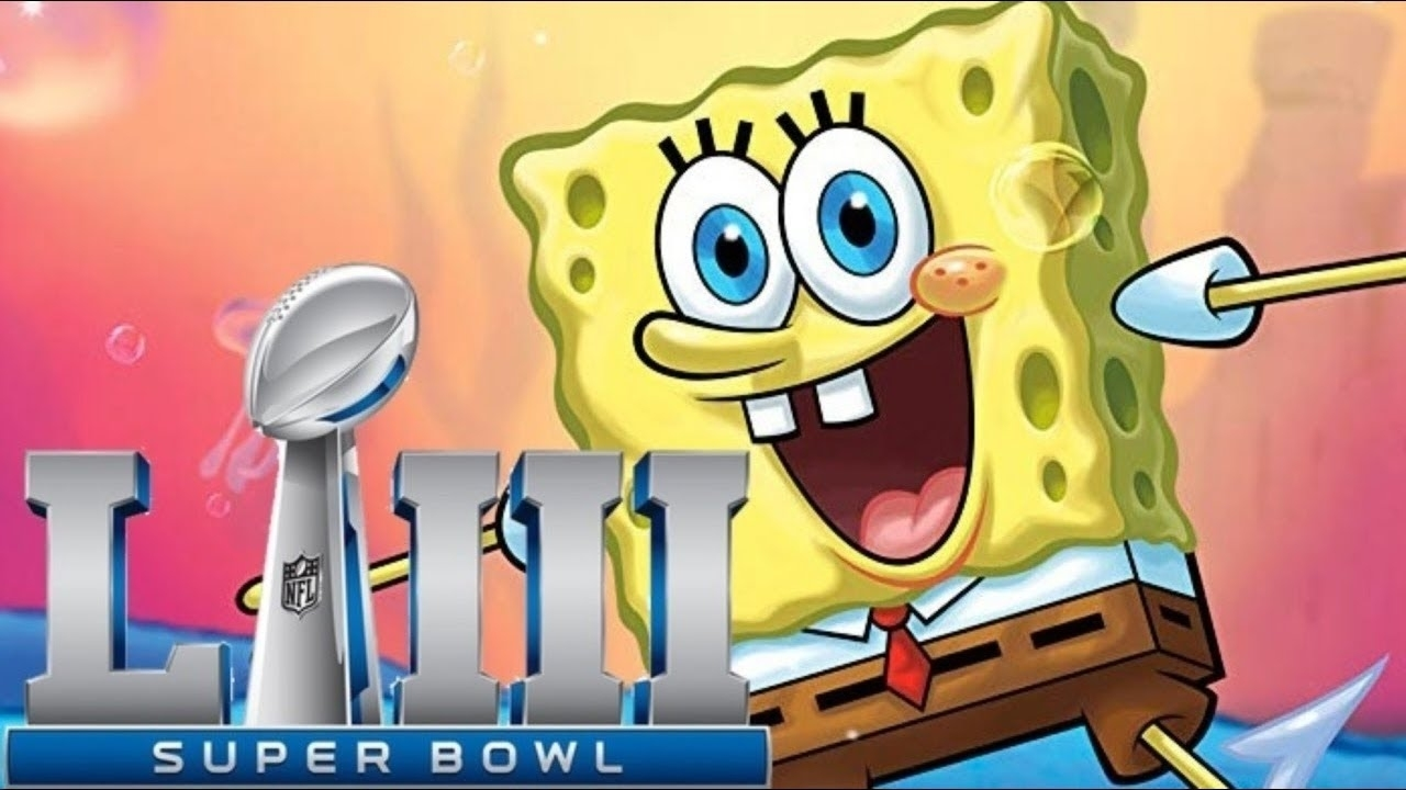 Spongebob - Super Bowl 2019 (Maroon 5 - Sweet Victory) in Super Bowl 2019 Sweet Victory