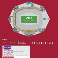 Stadium Maps - Mercedes Benz Stadium regarding Mercedes Benz Stadium Super Bowl Map