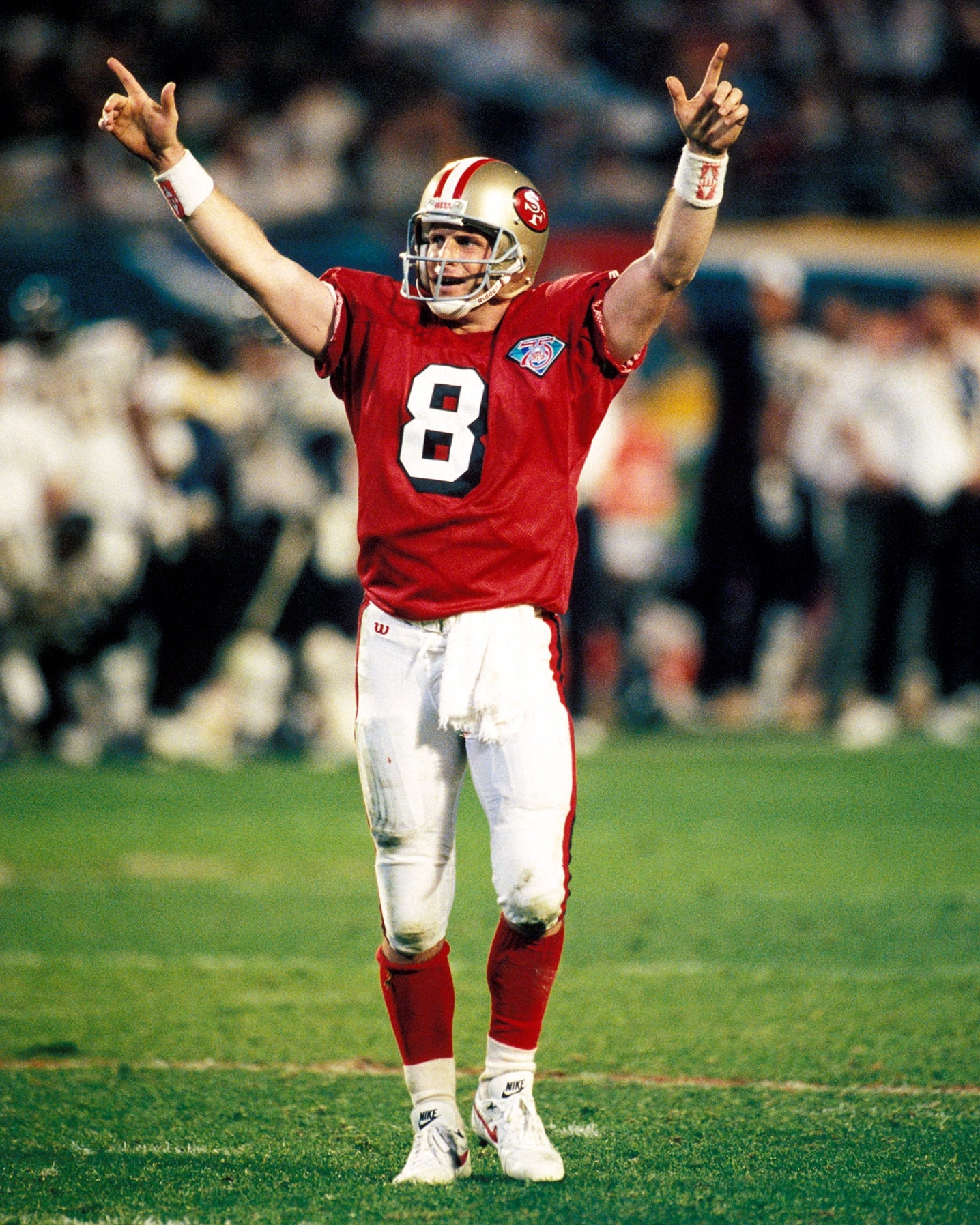 Steve Young - Super Bowl Xxix (24/36, 325 Yards, 6 Tds intended for Steve Young Super Bowl
