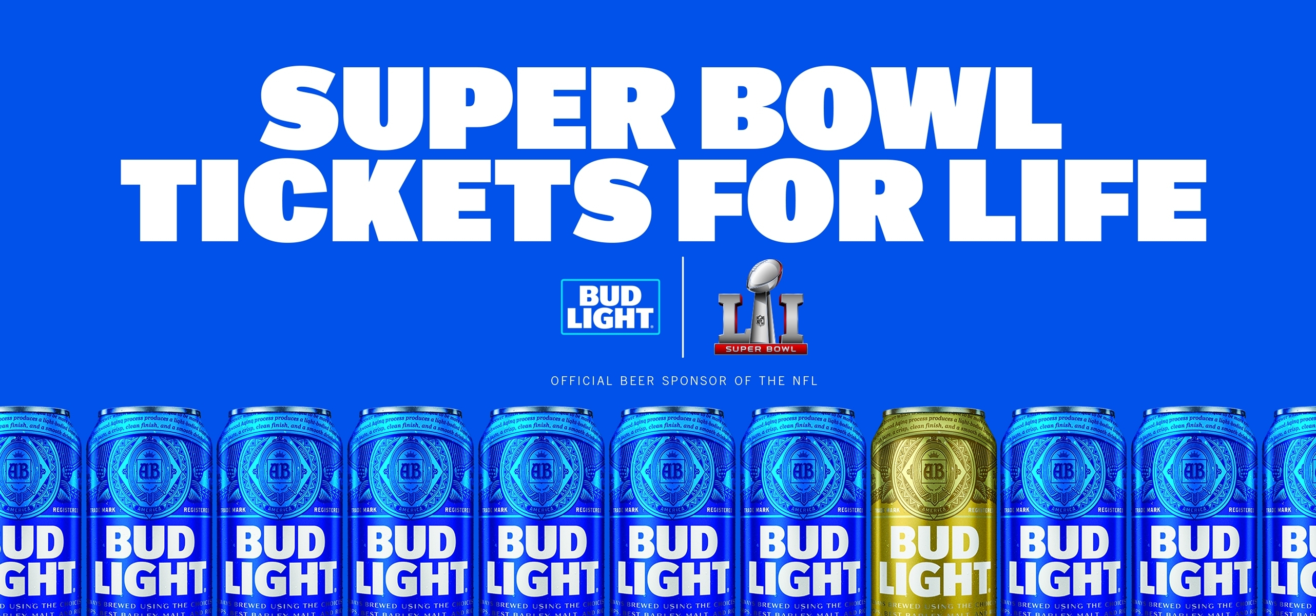 Strike Gold With Bud Light For A Chance To Win Super Bowl regarding Bud Light Super Bowl