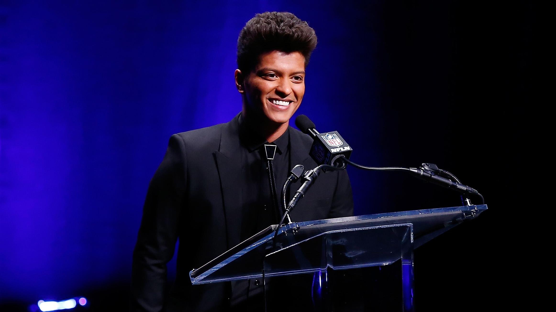 "Super Bowl 2014: Bruno Mars ""grateful"" To Perform At with Bruno Mars Super Bowl 2014"